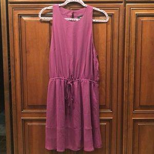 Purple Sleeveless Dress Size Large